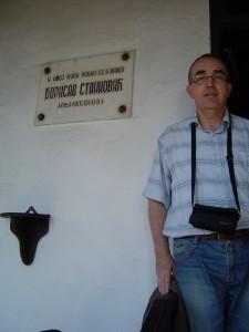 Zoltan kod rodne kuce B Stankovica