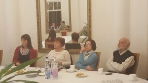 Део публике у Будимпешти на предавању Бориса Стојковског